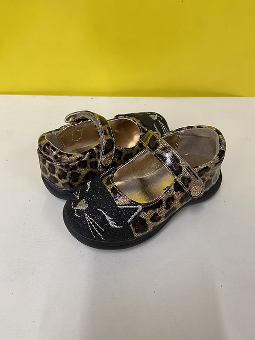 Nina Ambella Leopard Mary Jane Shoe