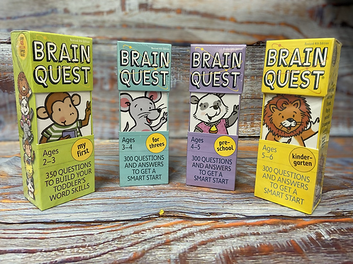 BrainQuest Flashcards & Workbooks