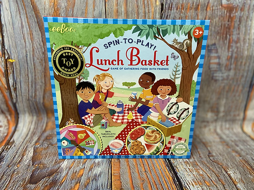 Spin-To-Play Lunch Basket Game