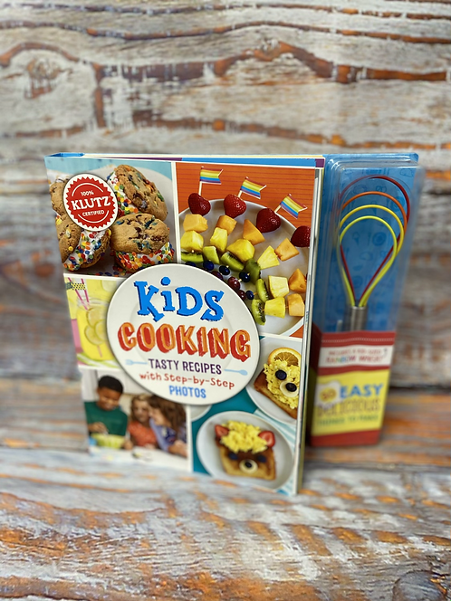 Kids Cooking Recipe Book