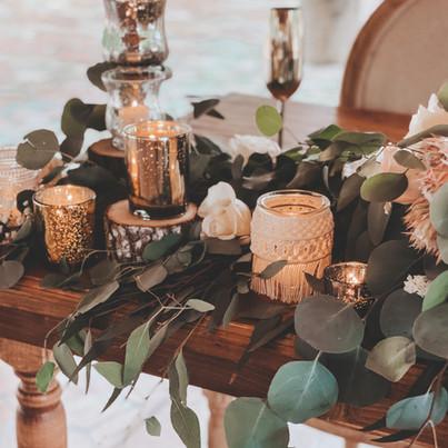 Sweetheart Florals + Decor