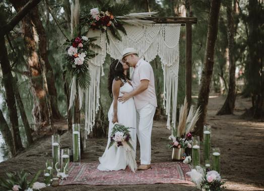 Macrame Backdrop + Wedding Arch