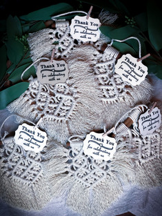 Mini Macrame Thank You Favors