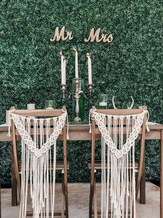 Macrame Chair Covers