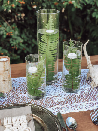 Tall Cylinder Vases