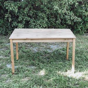 Rustic Wood Sweetheart Table