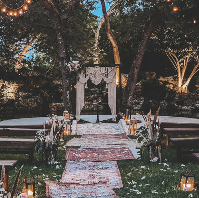 Ceremony Decor + Florals
