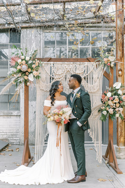 Macrame Wedding Backdrops