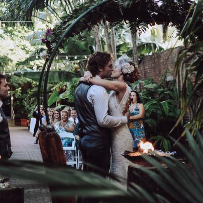 Wedding Arch + Fire Bowl