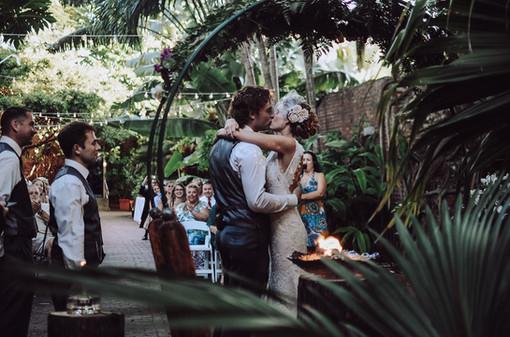 Wedding Arch + Water Torch