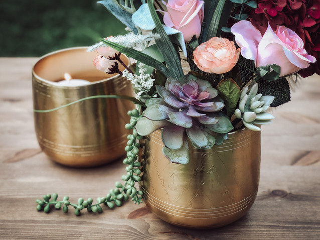 Gold Planters