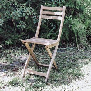Acacia Folding Chair