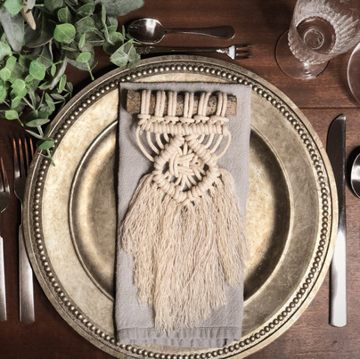 Macrame Place Settings