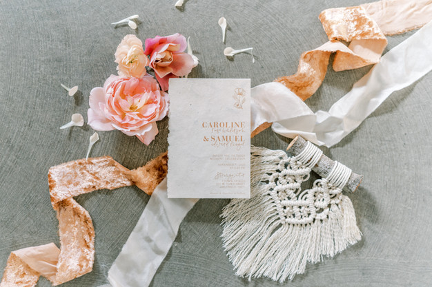 Macrame Wedding Favors