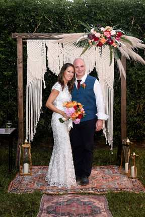 Bohemian Wedding Backdrop