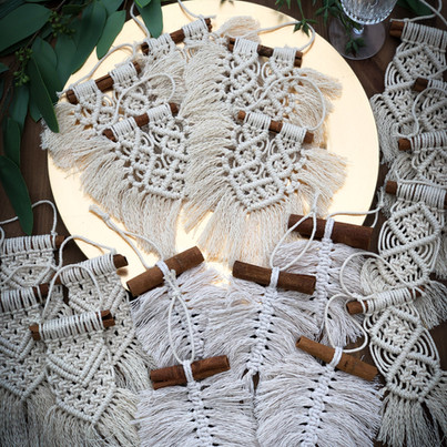 Mini Macrame Favors