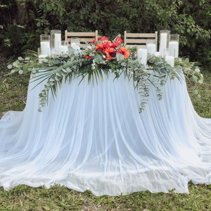 Extra Long Pooling Table Skirt