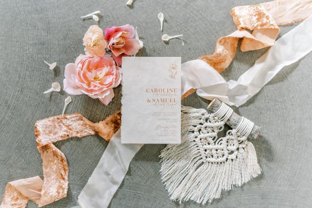 Macrame Wedding Favors