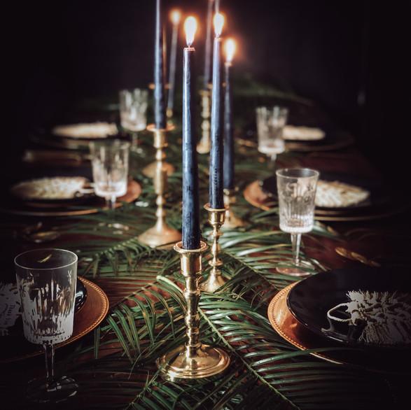 Boho Tropical Table Decor