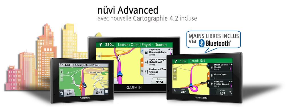 nouveau GPS nuvi Advanced avec Carto 4.2