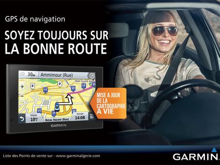 Campagne d'affichage Garmin
