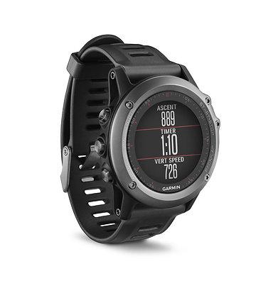 Montre Multisport avec GPS Garmin fēnix®3 Silver
