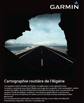 Cartographie Algerie