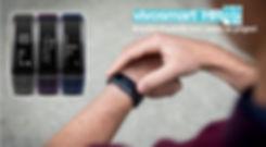bracelet connecté vivosmart HR, bracelet d'activité garmin vivosmart, vivosmartHR