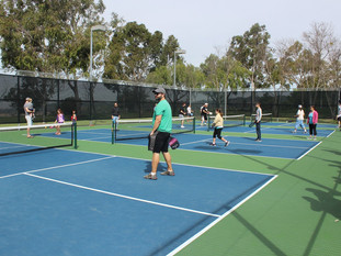 Ribbon Cutting Ceremony for the New Pickleball Courts at Altisima Park