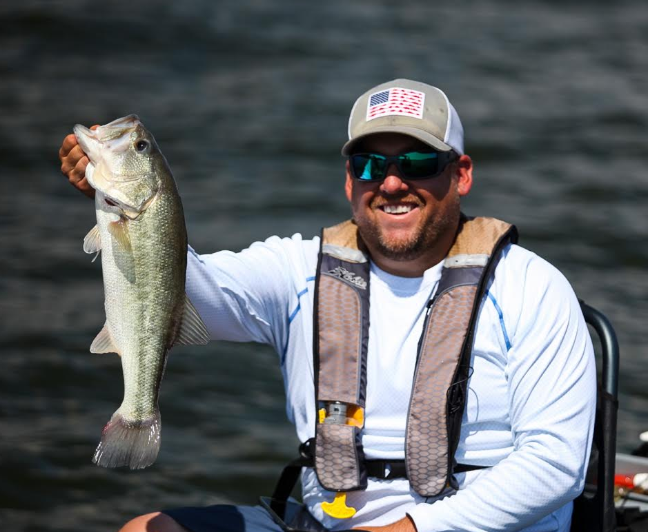 kayak bass angler Jay Wallen