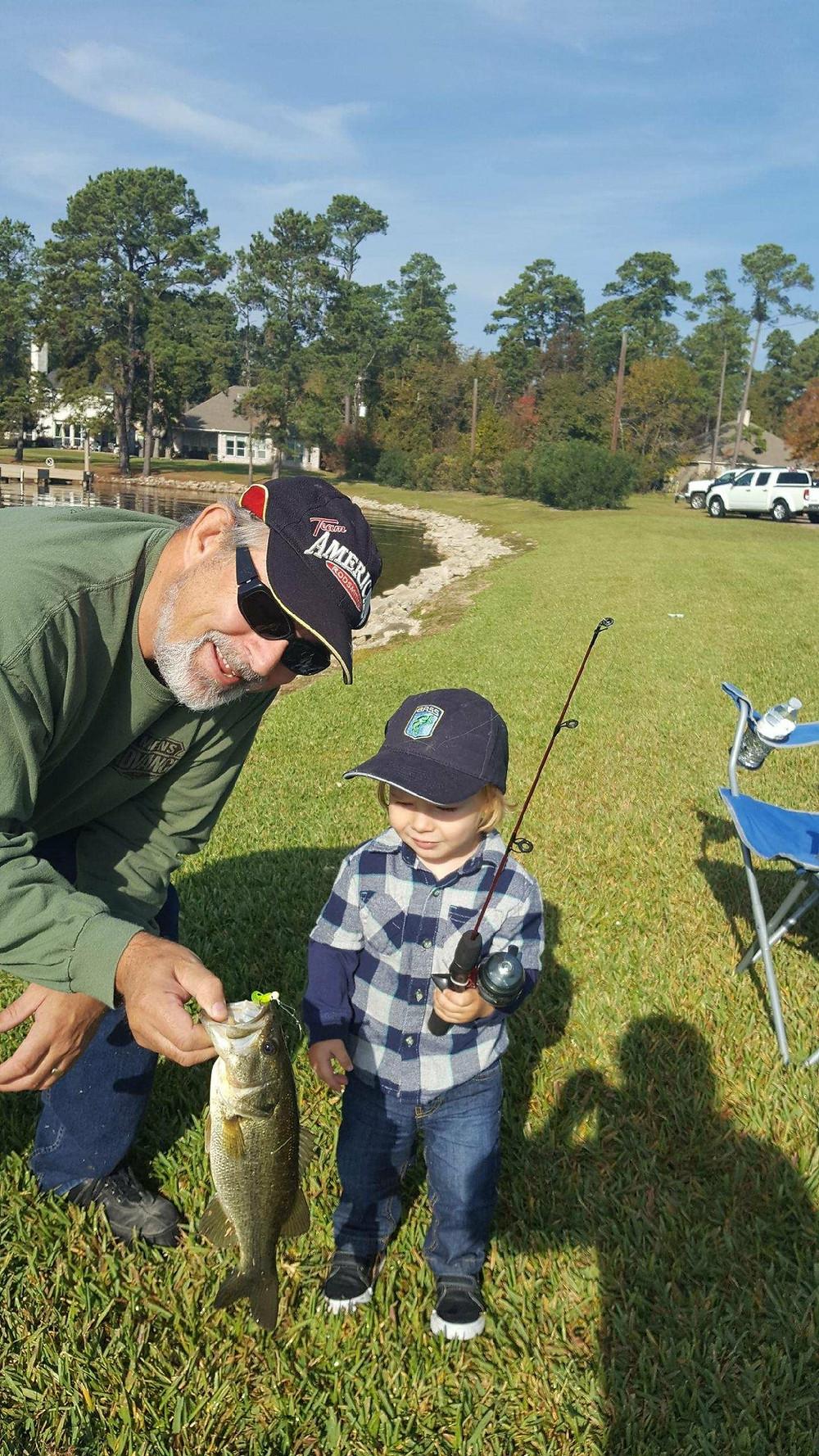 Kayak Bass Fishing angler Gary Sharpe