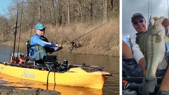 Kayak Angler Profile- Dwain Batey