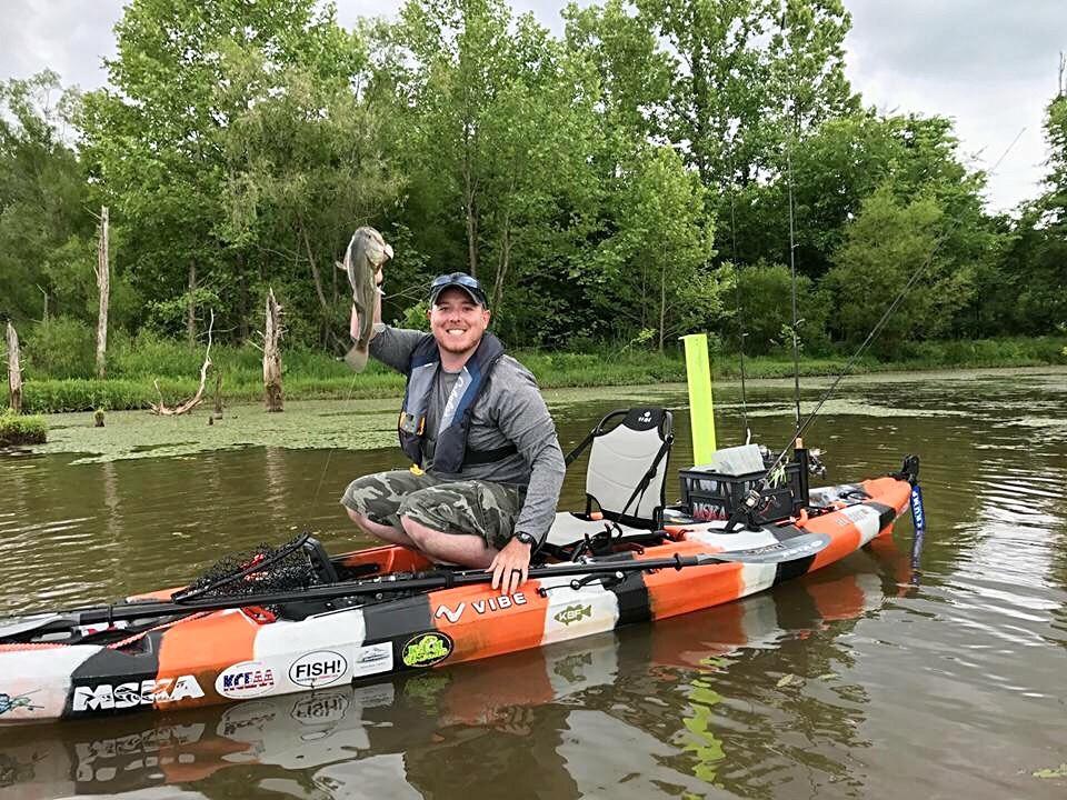 West Virginia Kayak Angler Nathan Finney
