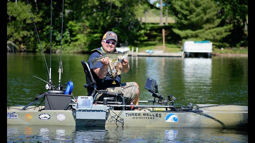 Maine Kayak Angler Jason Gardner