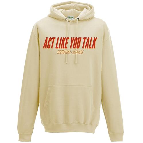 Sweat | Vanille - Act like you talk