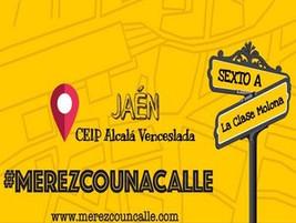 #MerezcoUnaCalle en la clase molona de 6º A