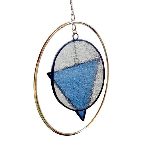 Móvil Vidrio Azul