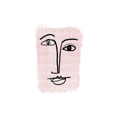 'Retrato Rosa 1' de Claudia Talavera