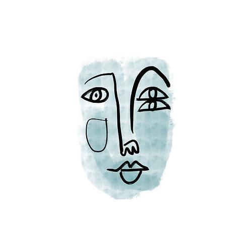'Retrato Aqua 1' de Claudia Talavera