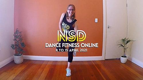 NSD 10-CLASS PASS (incl. this week's class 8 to 15 April 2021)