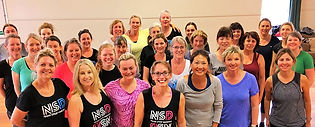 Never Stop Dancing class at Thistle Hall, Wellington, New Zealand