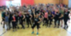 Never Stop Dancing event, in Wellington, New Zealand - Everbody Dance Now