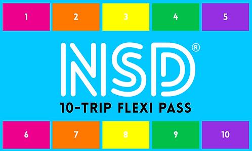 NSD 10-Trip Flexi Pass ($14 per class)