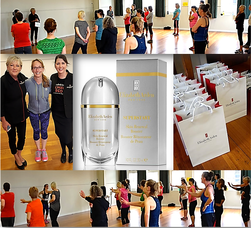 Elizabeth Arden at Never Stop Dancing (formerly Virginia Keast Zumba )