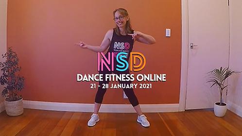 NSD 5-class pass (incl. this week's class 21 - 28 Jan)