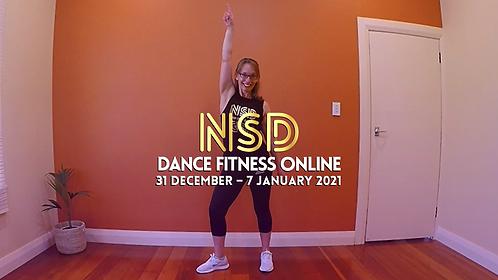 NSD 5-class pass (incl. this week's class)