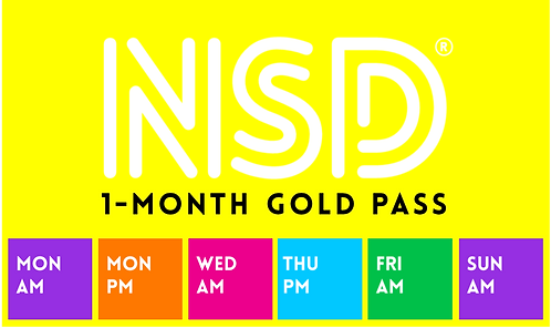 NSD 1-Month Pass (Gold)