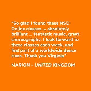 NSD Online testimonial
