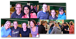 Just a few small groups :)