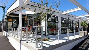 Prefab Cafe in Wellington